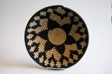 Rwandese Basket in Black