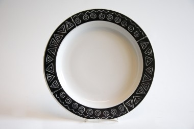 Mudcloth Dinner plate