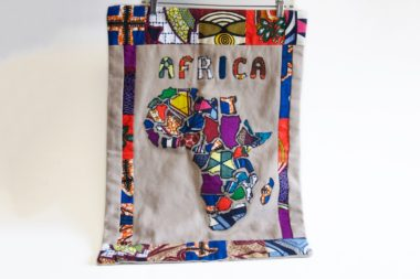 Textile map of Africa