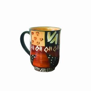 Thumbprint Artifacts | Animal Print Ceramic Cup