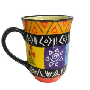 Multi-colored cup (4)