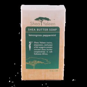 Lemongrass Peppermint Soap | Shea Yeleen