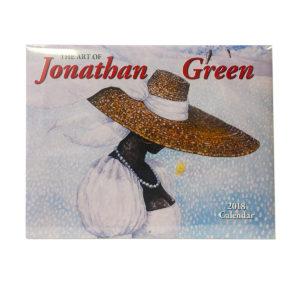 The Art of Jonathan Green 2018 Calendar