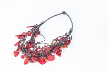 Redglassnecklace