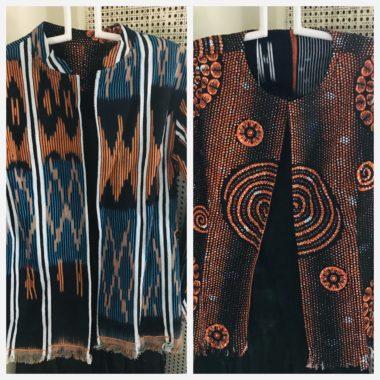 Rama Reversible Orange and Turquois Jacket