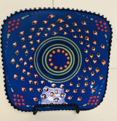 Potters Blue Plate